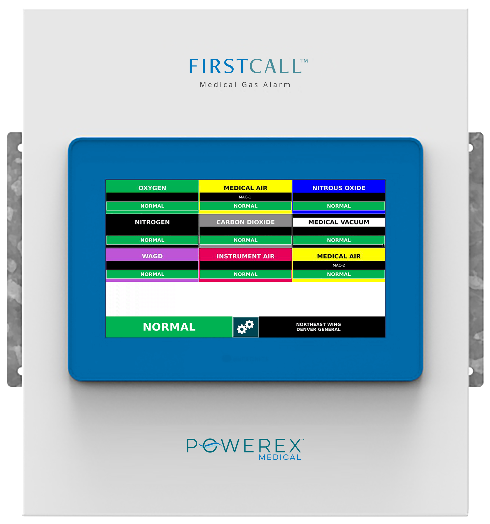 """Master Alarm Panel with 10"""" screen and 55 input signals"""